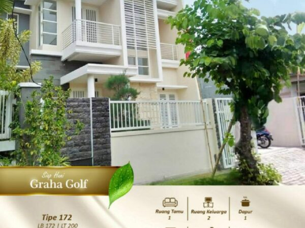 READY STOCK! Modern Kota Araya Graha Golf 2 Lantai